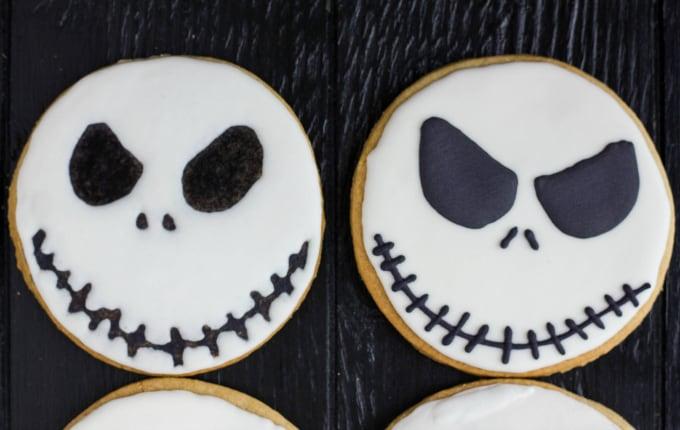 Jack Skellington Royal Icing Cookies 4