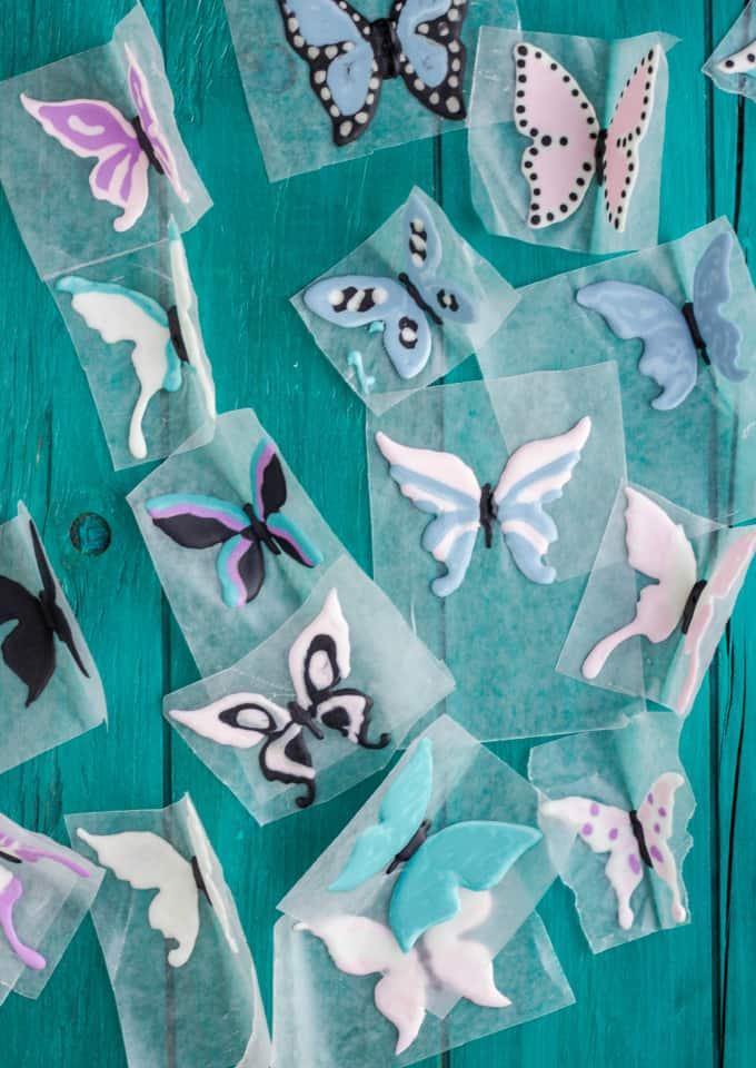 Royal Icing Butterflies Tutorial 4