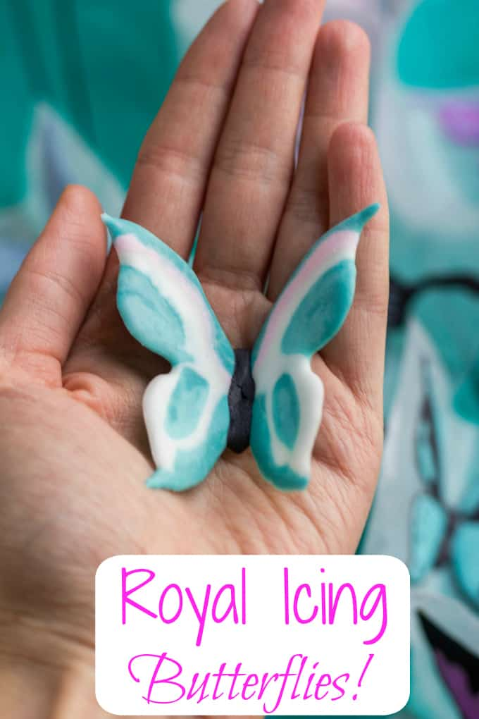 Royal Icing Butterflies Tutorial 6