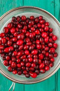 Candied Cranberries with Amaretto Liqueur 1