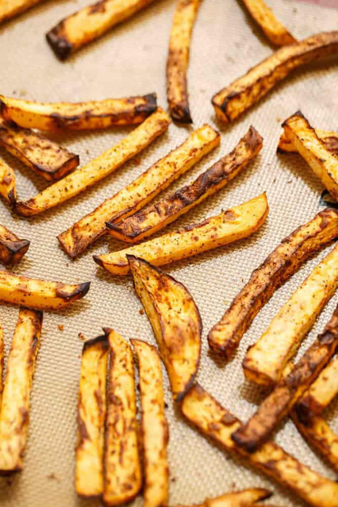 Rutabaga Fries #glutenfree