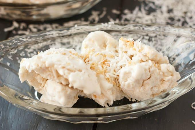 Vegan Toasted Coconut Ice Cream 2