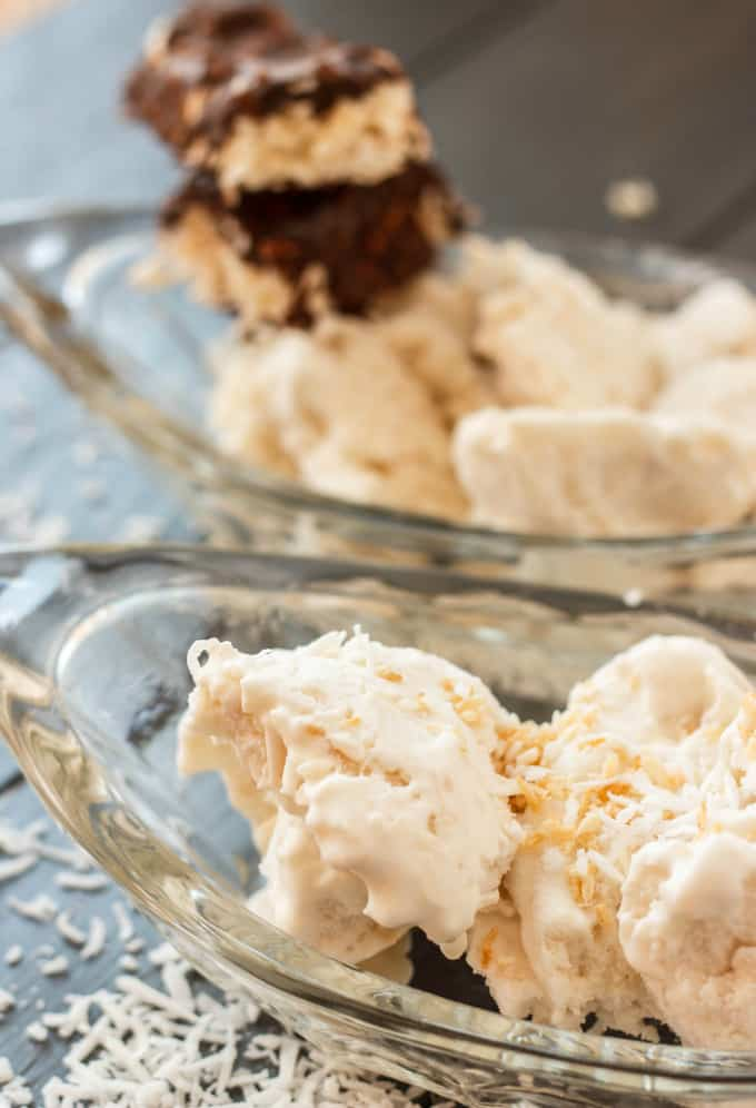 Vegan Toasted Coconut Ice Cream - The Cookie Writer