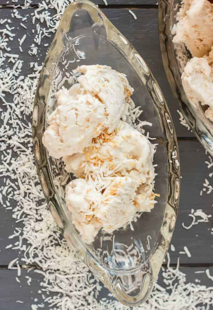 Vegan Toasted Coconut Ice Cream 6