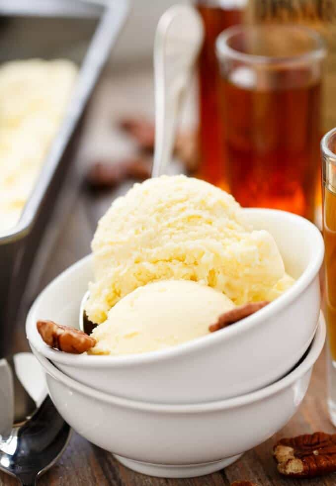 Amaretto Ice Cream #amaretto