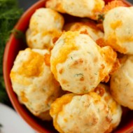 Dill and Cheese Puffs