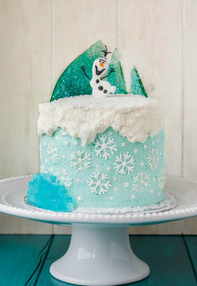 Frozen Theme Cake 1