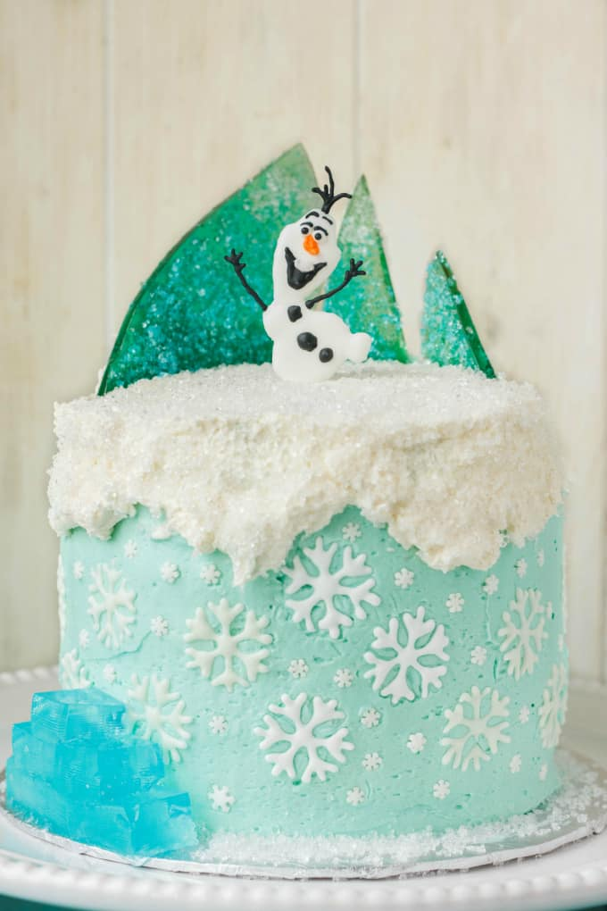 Frozen Castle Cake Ideas