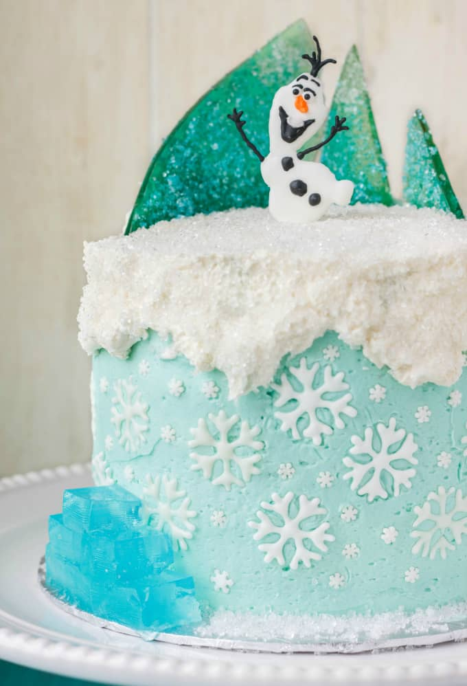 Frozen Cake Decorating