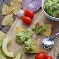 Homemade Guacamole Dip
