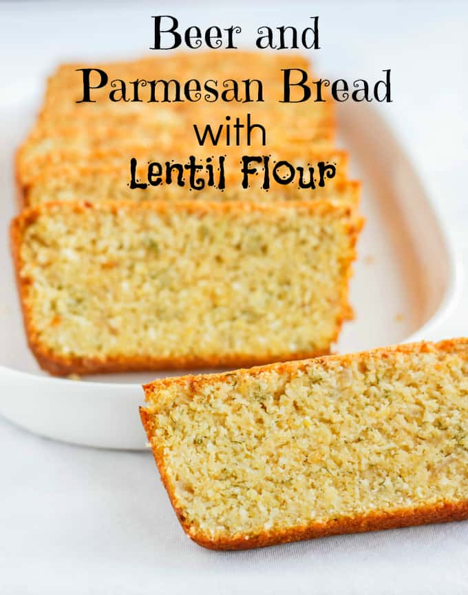 Beer and Parmesan Bread made with Lentil Flour 7