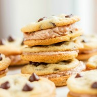 Chocolate Chip Cookie Sandwiches with Buttercream
