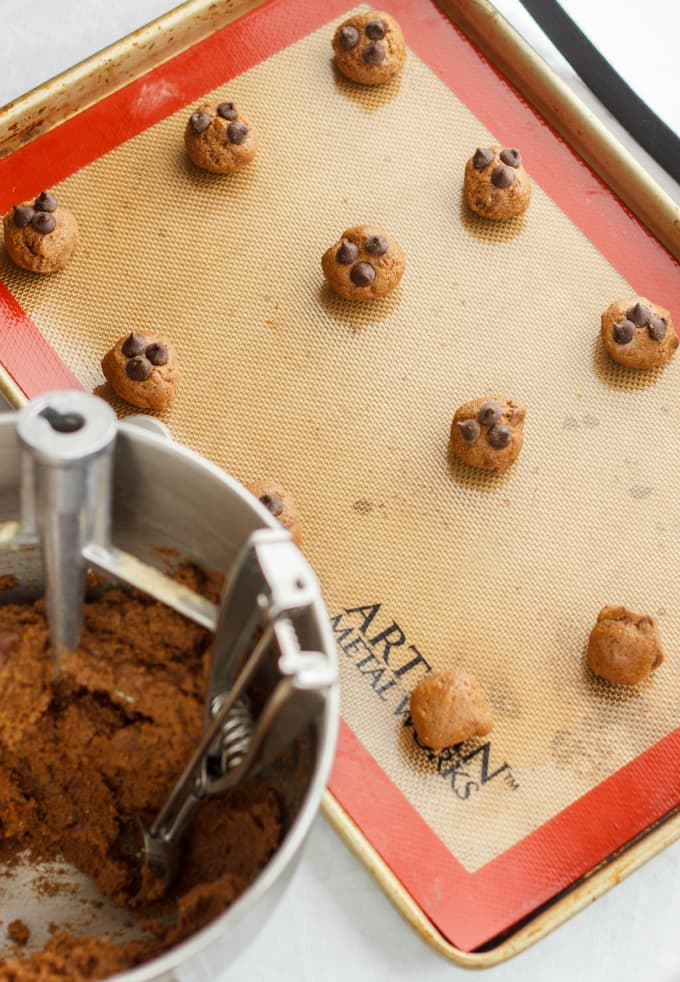 Chocolate Chip Cookies made with Lentil Flour 2