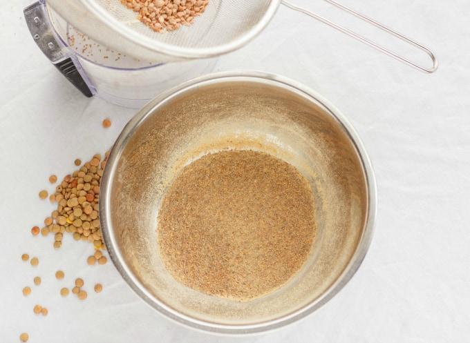Homemade Lentil Flour 5