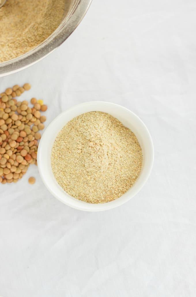 Homemade Lentil Flour 7