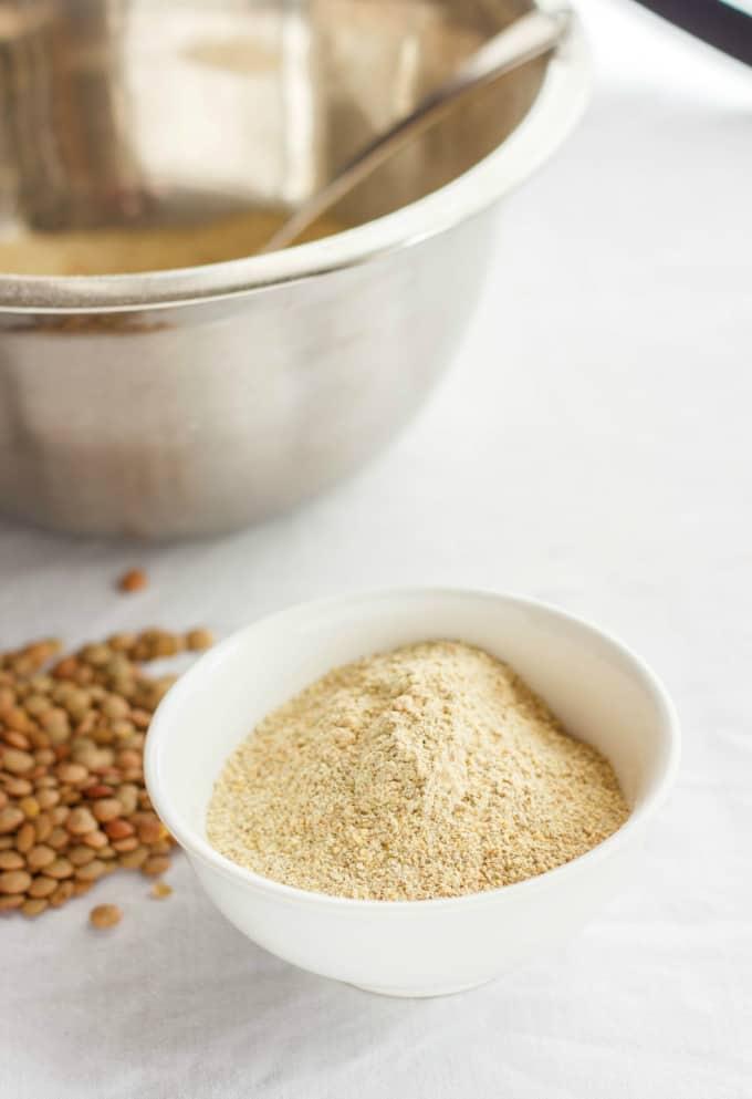 Homemade Lentil Flour 8