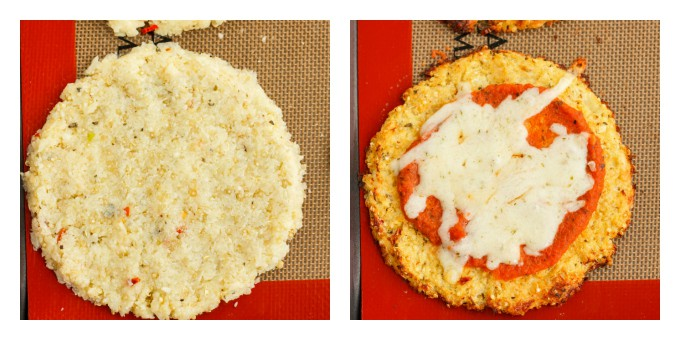 Mini Cauliflower and Quinoa Crust Pizzas - The Cookie Writer
