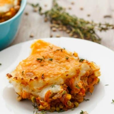 Vegetarian Shepherd's Pie (Vegan Shepherd's Pie)