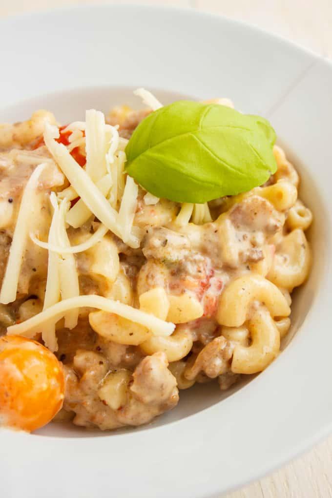 Macaroni With Beef Recipe — Dishmaps