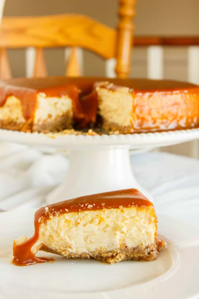 Salted Caramel Cheesecake 5