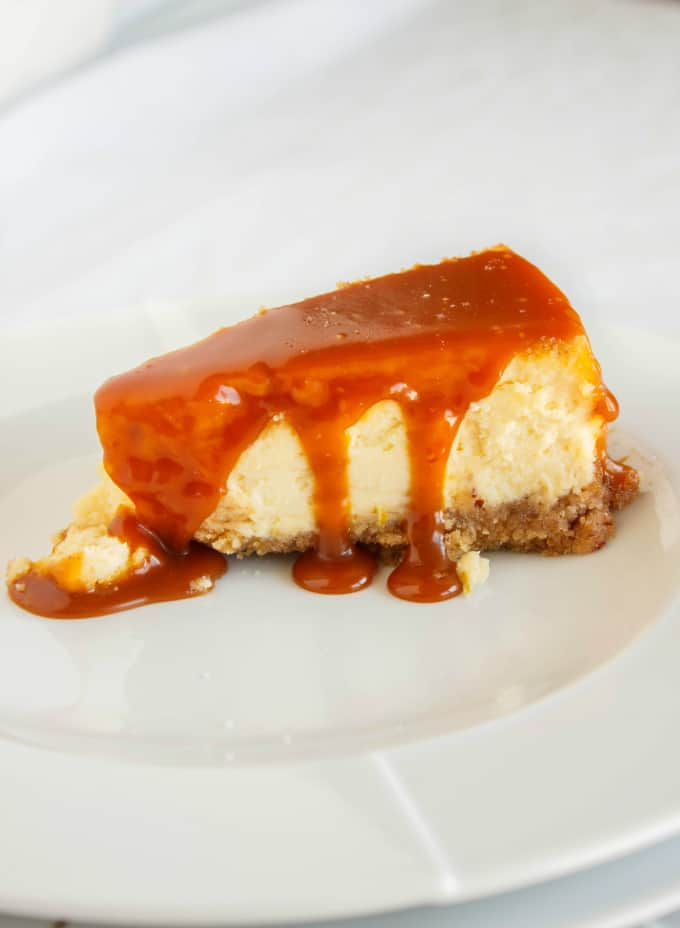 Salted Caramel Cheesecake 6
