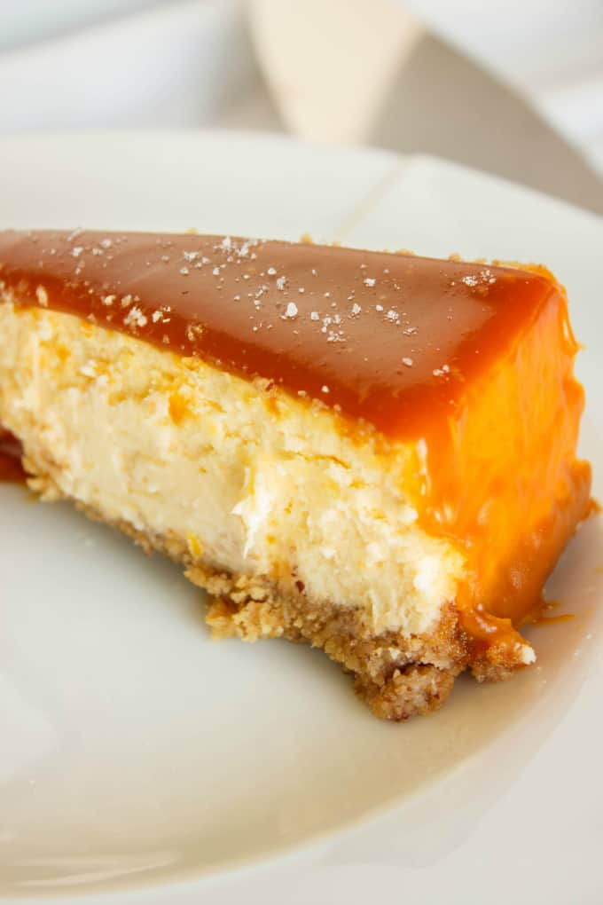 Salted Caramel Cheesecake 7