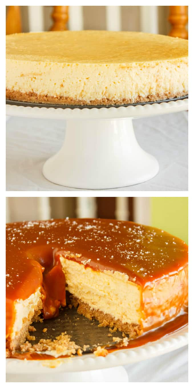 Salted Caramel Cheesecake 8