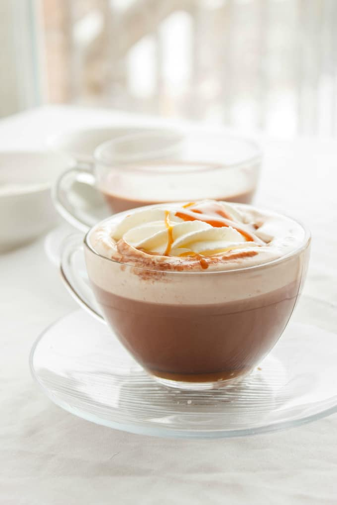Salted Caramel Hot Cocoa 2