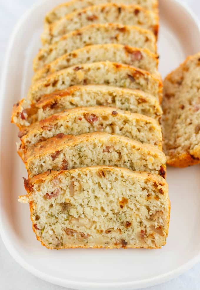 Beer, Bacon, and Parmesan Bread 4