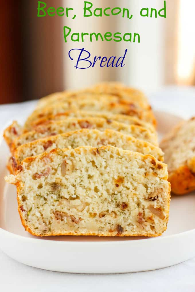 Beer, Bacon, and Parmesan Bread 5