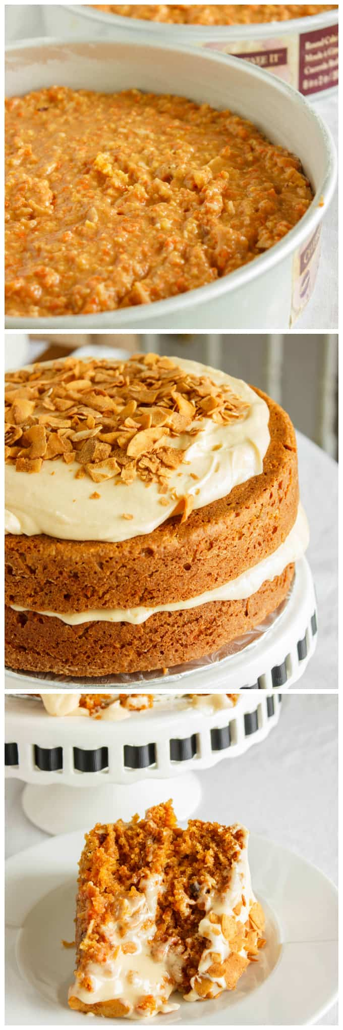 Carrot Cake with a Brown Butter and Brown Sugar Buttercream 2