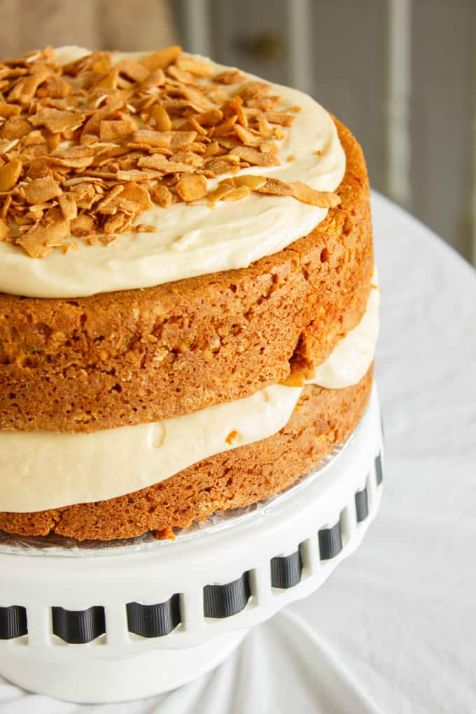 Carrot Cake with a Brown Butter and Brown Sugar Buttercream 4