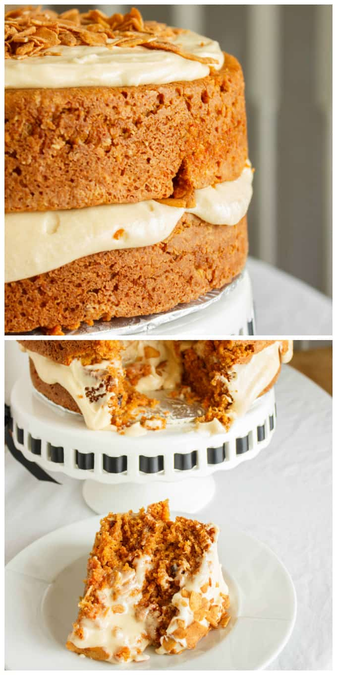 Carrot Cake with a Brown Butter and Brown Sugar Buttercream 5