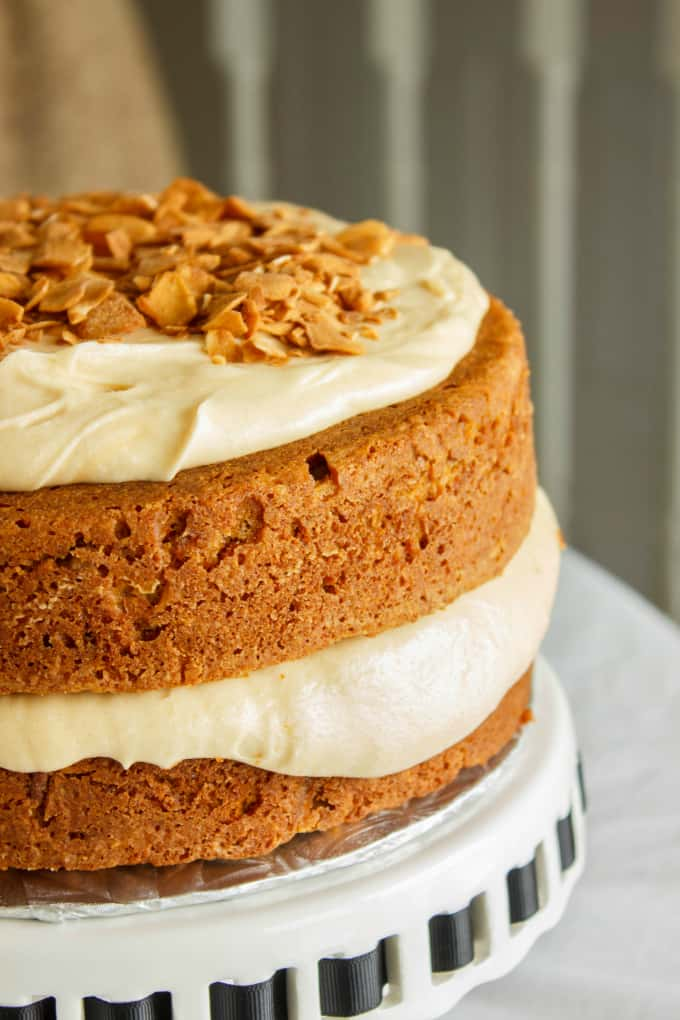 Carrot Cake with a Brown Butter and Brown Sugar Buttercream 6