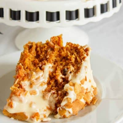 Naked Carrot Cake with a Brown Butter and Brown Sugar Buttercream