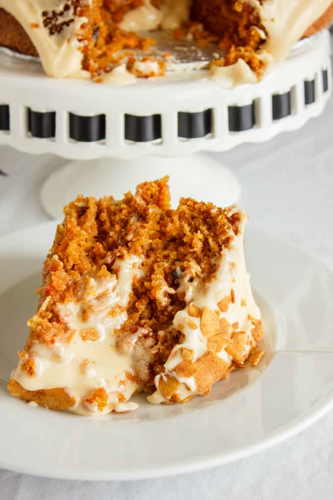 Carrot Cake with a Brown Butter and Brown Sugar Buttercream 7