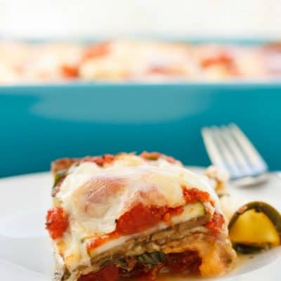 Eggplant and Zucchini Lasagna (No Pasta!)