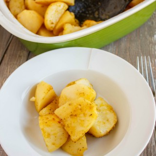 Greek Lemon Potatoes 2