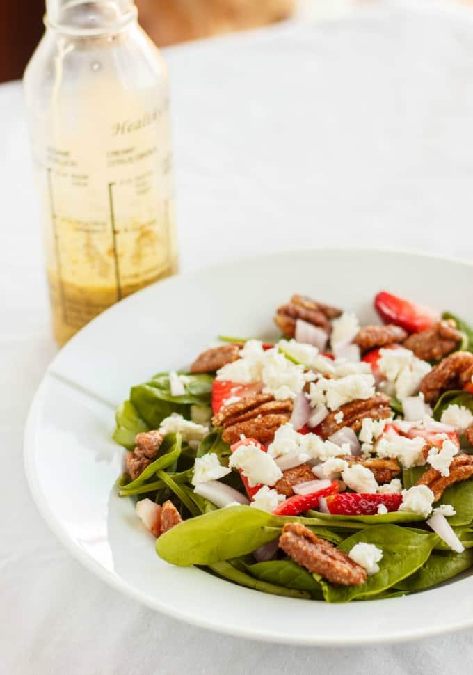 Milestones' California Spring Salad 4