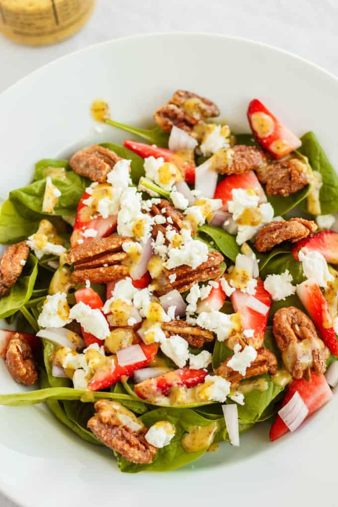 Milestones' California Spring Salad 5