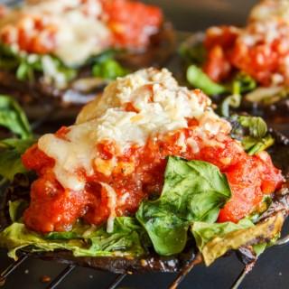 Portobello Mushroom Pizzas 4