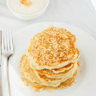 Toasted Coconut Pancakes 3