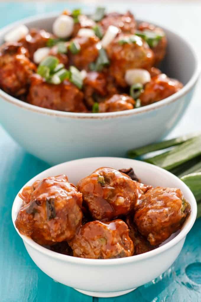 General Tso's Meatballs #meatballs