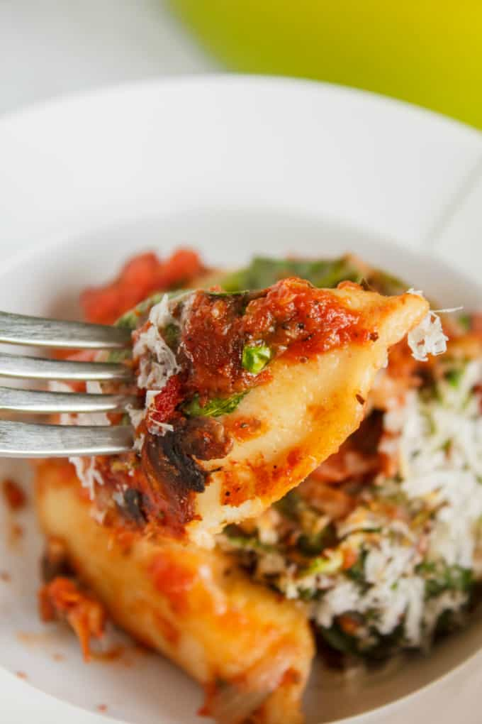 Oven-Baked Perogies in Tomato Sauce 2