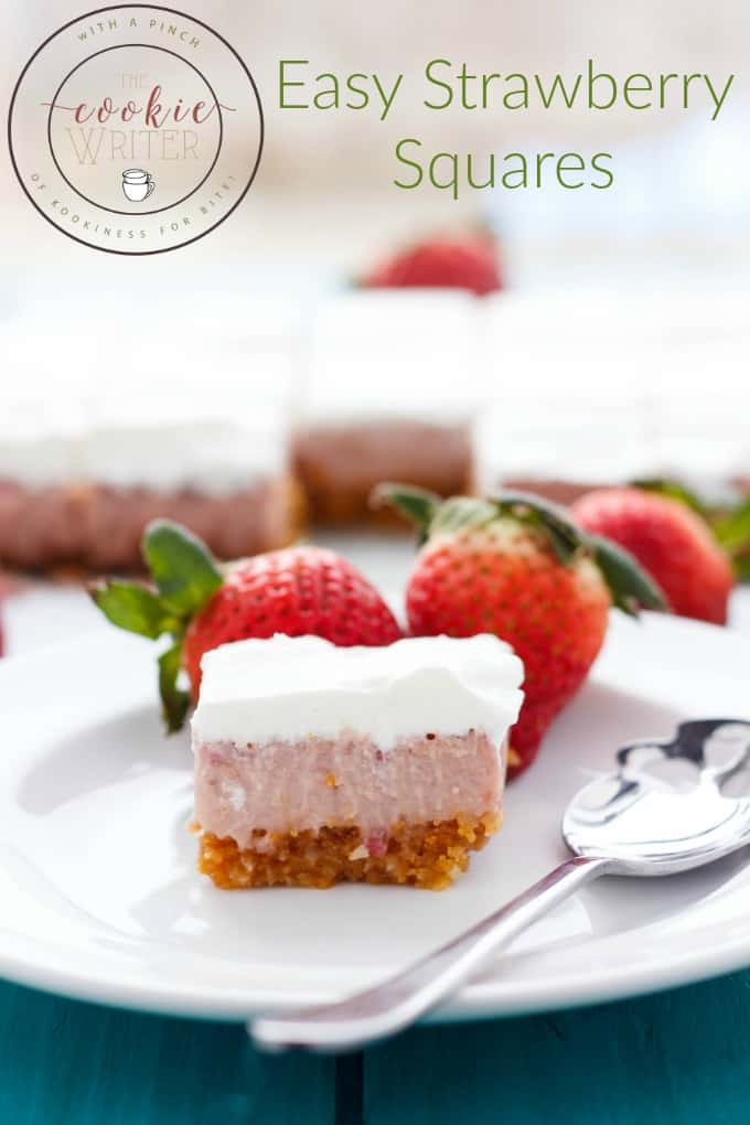 Easy Strawberry Squares