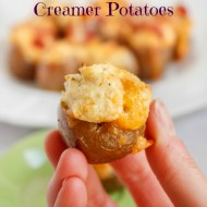 Jalapeno Popper Stuffed Creamer Potatoes