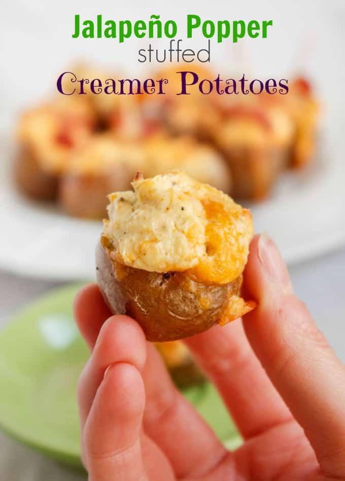 Jalapeno Popper Stuffed Creamer Potatoes 7