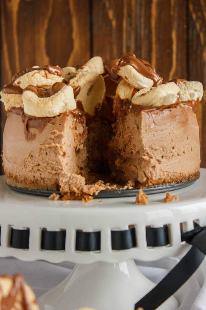 S'mores Cheesecake 7