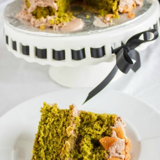 Spinach Cake with Chocolate Coconut Cream Frosting 5