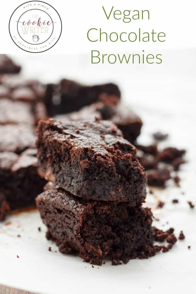Vegan Chocolate Brownies #vegan